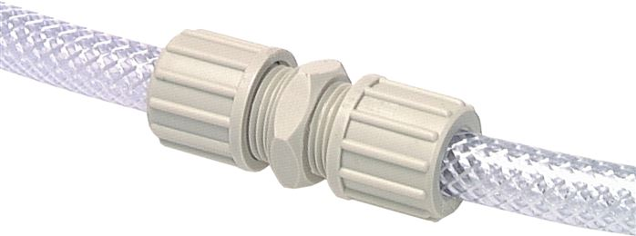 Straight connectors for fabric hose TX
