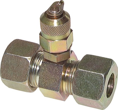 Test couplings M 16x1.5 in straight screw connections, up to 630 bar