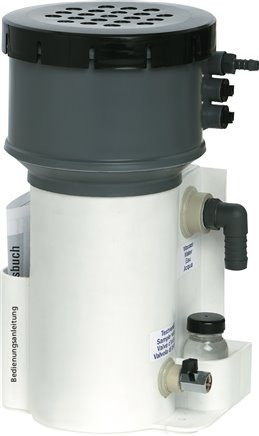 Oil / water separators for compressed air compressor condensate