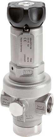 Stainless steel precision pressure regulators - Solid, up to 15,000 l/min*