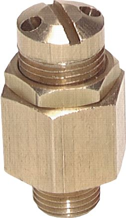 Mini adjustable safety valves, not component tested, (0.5 - 60 bar)