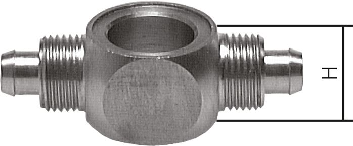 T-screw connections, ring pieces, CK