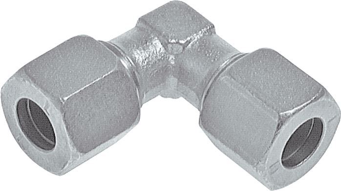 Elbow screw connections